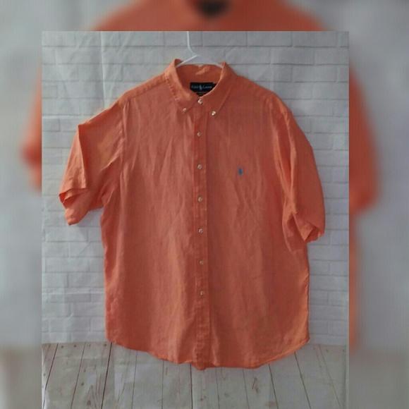 7557dfa52 Ralph Lauren Shirts   Xl Classic Fit Linen Button Up Shirt   Poshmark
